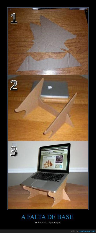 Base,Caja,macbook,portátil