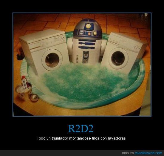 jacuzzi,lavadora,R2 D2