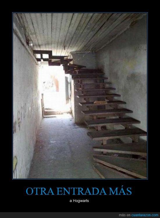 Escalera,hogwarts