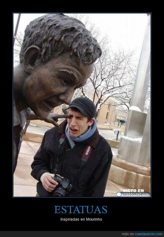 estatua,Mourinho,pito,tito