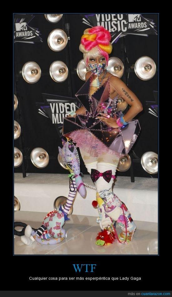 Nicki Minaj,vestido,WTF
