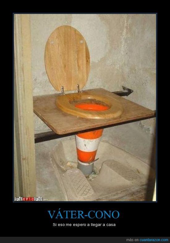 artesanal,rudimentario,vater,wc
