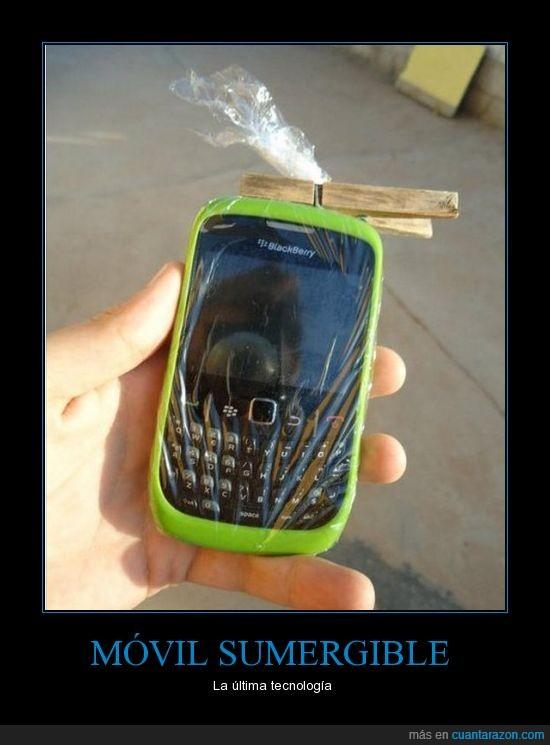 agua,blackberry,ingenio,movil,problem