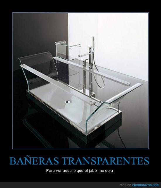 bañera,jabón,transparente