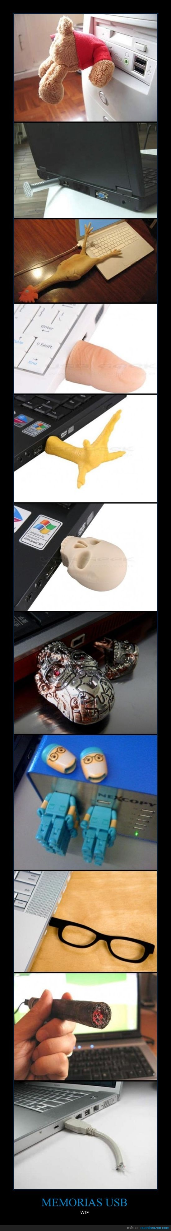 curiosas,Memorias USB,PenDrive