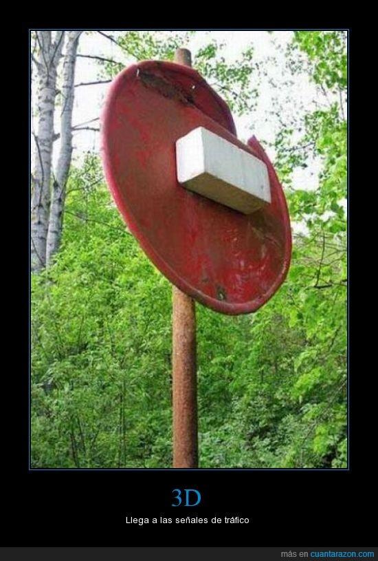 3d,señal,stop