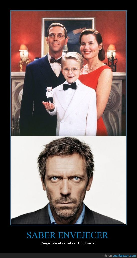 envejecer,house,hugh laurie,stuart little