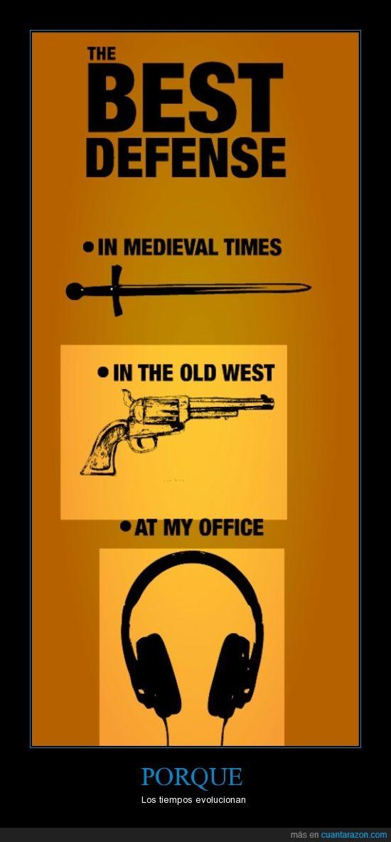 Cascos,espada,evolución,pistola,tiempos