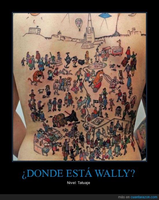 tatuaje,wally