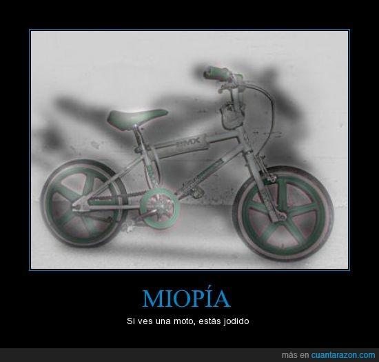 bici,miopia,moto