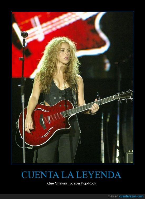 guitarra,pop rock,shakira