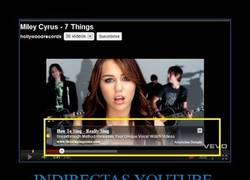 Enlace a INDIRECTAS YOUTUBE