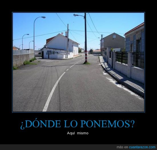 carretera,carril,galicia,medio,poste
