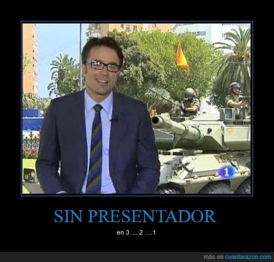 presentador,tanque,television