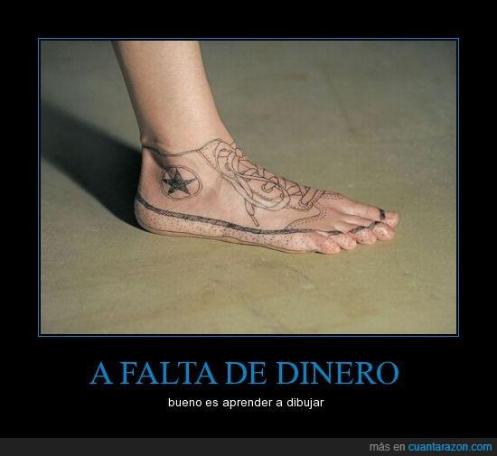 converse,pie,tatuaje
