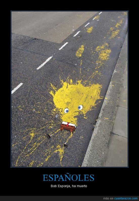 bob esponja,muerto