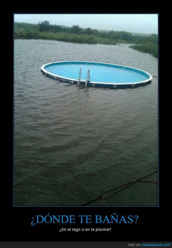 baño,lago,LOL,piscina