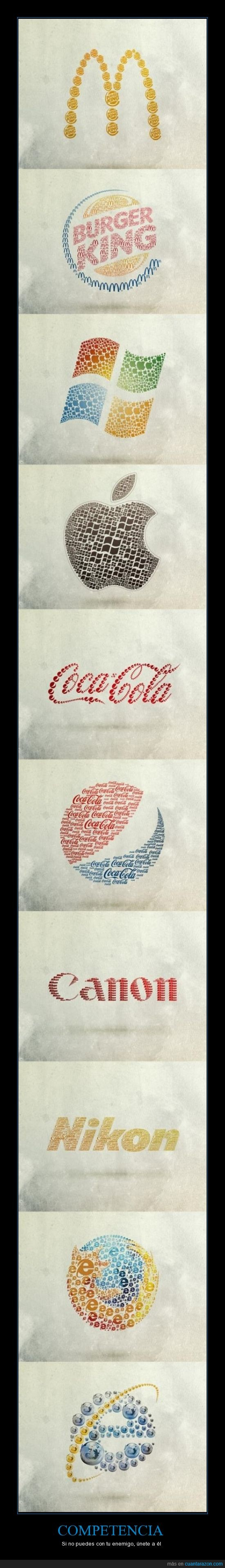 competencia,logos,rivales
