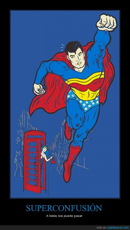 cambio,confusion,superheroe,superman