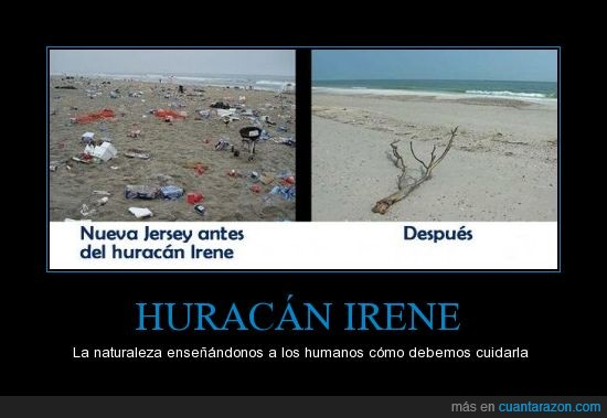 antes,despues,huracan,irene,new jersey,playa