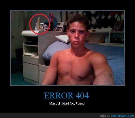 error 404,masculinidad