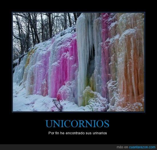 hielo,Unicornios,Urinarios