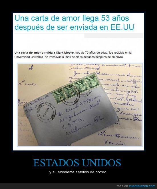 carta,correo,EE.UU,tarde