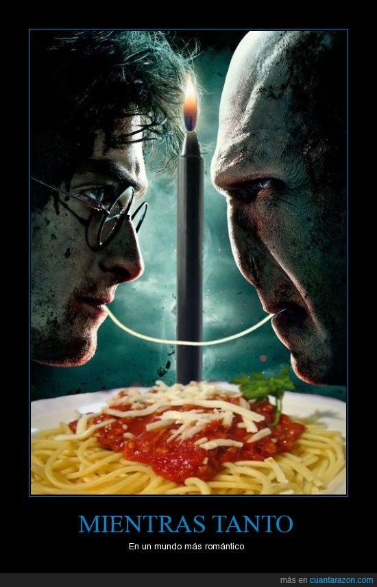espaguetti,harry poter,pasta,voldemort