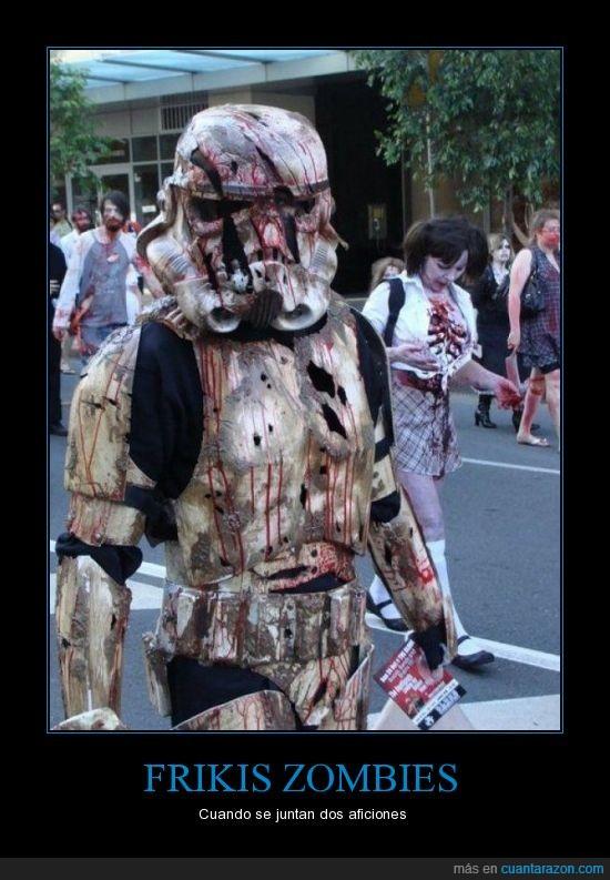 friki,muerto,star war,zombie