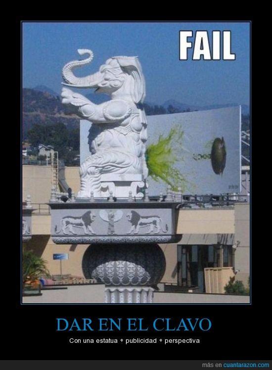 elefante,perspectiva,publicidad