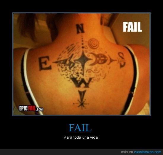 este,fail,norte,oeste,sur,tatuaje