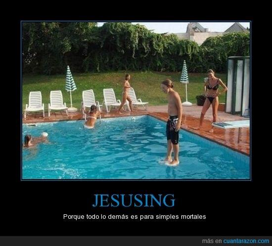agua,andar,Jesusing,piscina