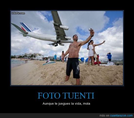 avion,foto,justo,momento