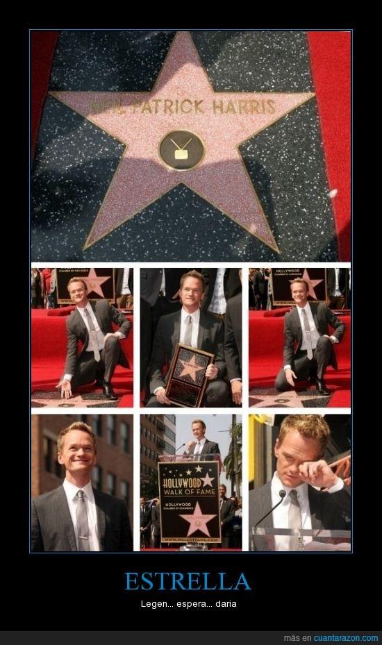 estrella,hollywood,neil patrick