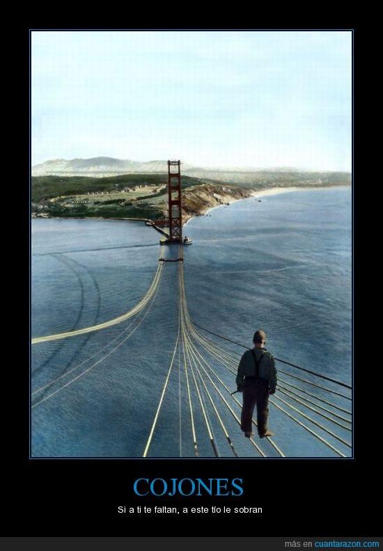 altura,bridge,cojones,cuerdas,hombre,puente