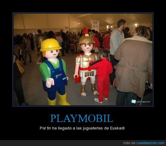 clics,juguetes,niños,playmobil