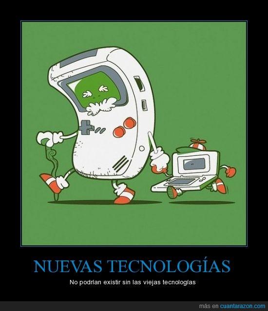 consola,ds,gameboy,nuevo,Tecnología,viejo