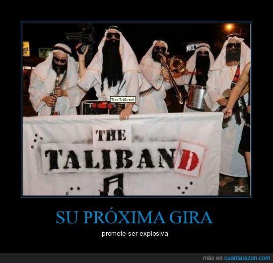 explosiva,gira,the taliband