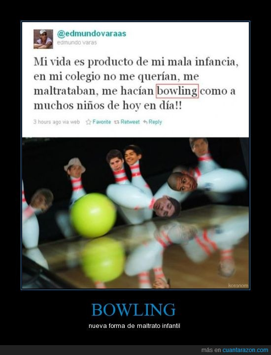bowling,bullying,tweet