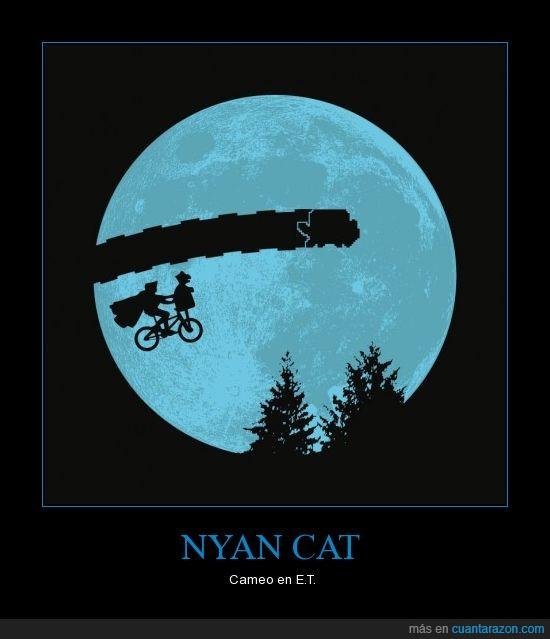 E.T.,luna,nyan cat