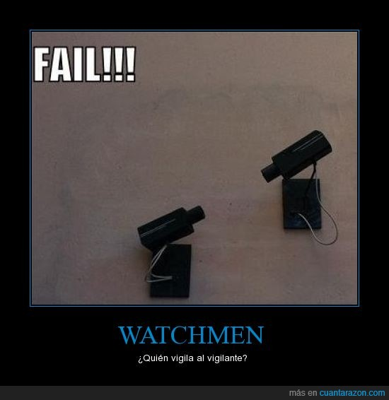cámara,seguridad,Watchmen