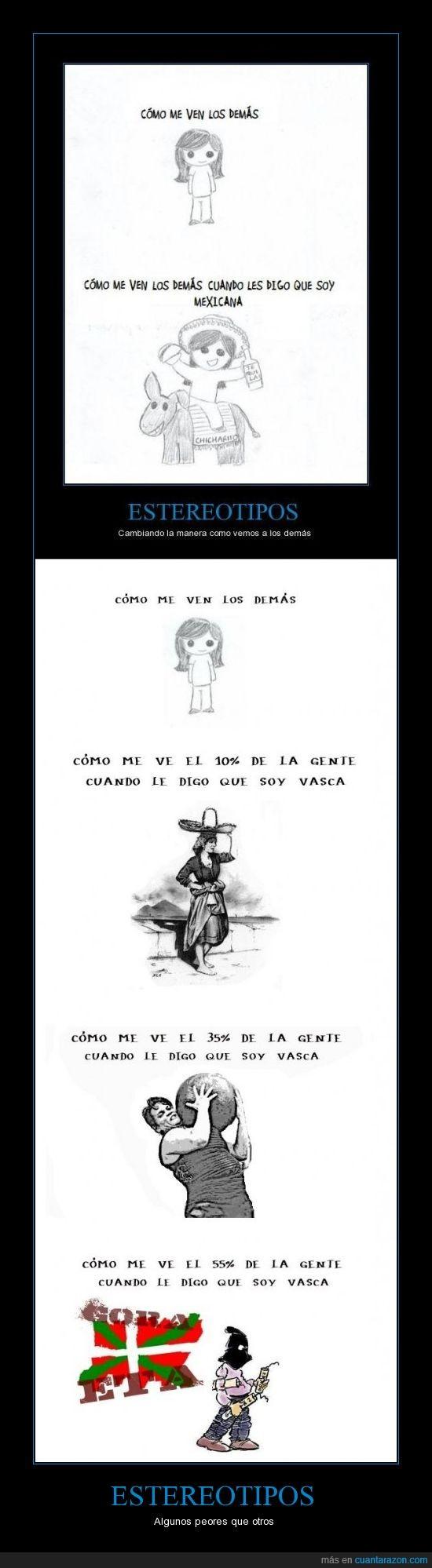 burro,estereotipos,mexicana,peor,vasca