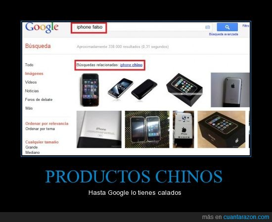 chino,falso,google,Iphone