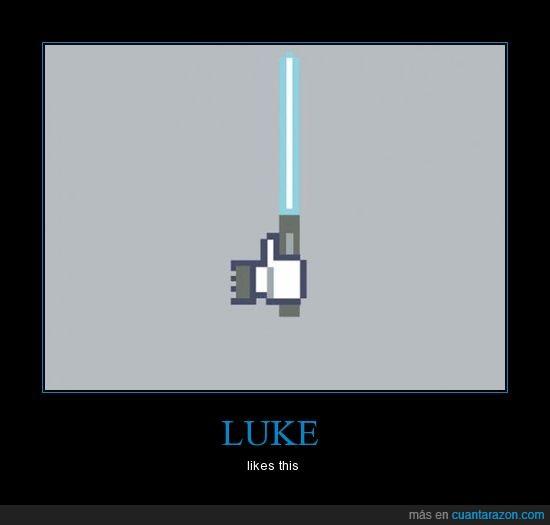 facebook,luke,me gusta,star wars