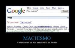 Enlace a MACHISMO
