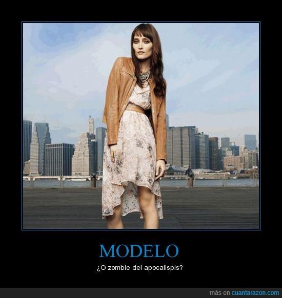 moda,modelo,zombie