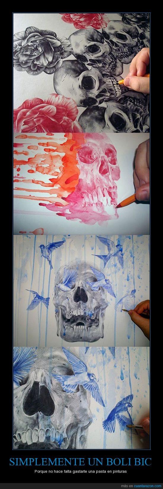 arte,boli,dibujo,tinta