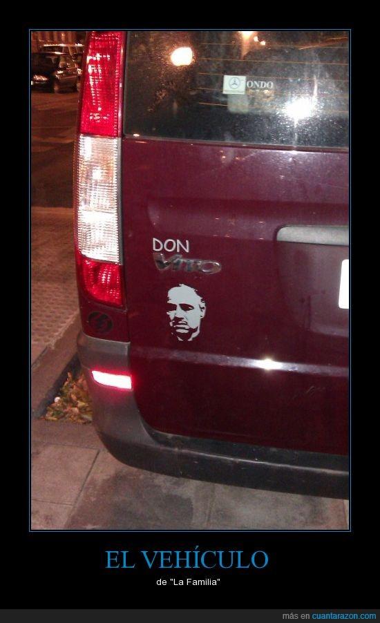 furgoneta,la familia,Vito Corleone