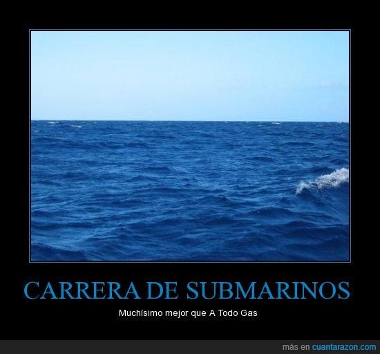 carrera,gas,submarinos,todo