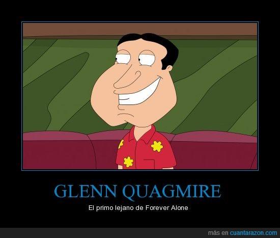 Forever Alone,Glenn Quagmire,Padre de Familia